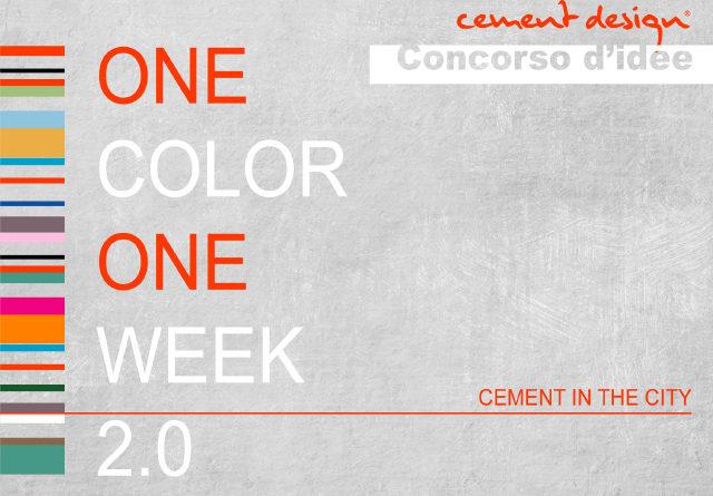 CONCORSO ONE COLOR 2017