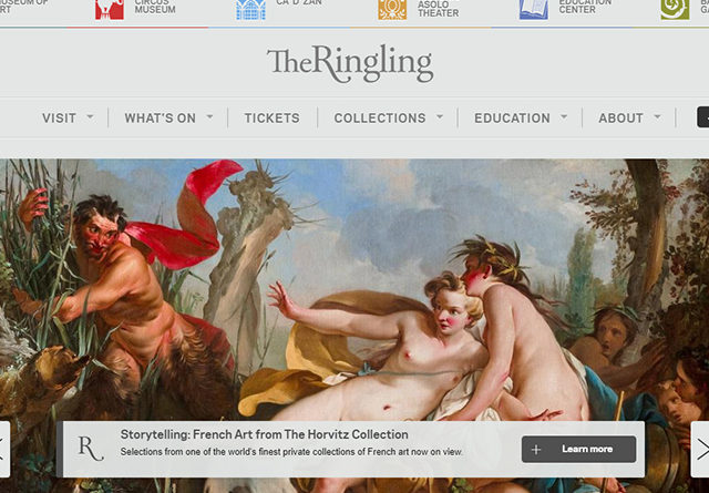 Assistente part-time presso il Museo d'arte The John & Mable Ringling in Florida