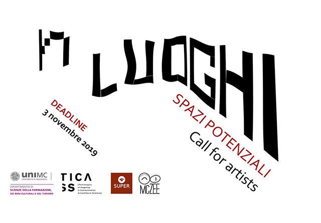 Luoghi. Spazi potenziali. Call for Artists